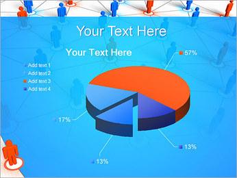 Concepto de red Plantillas de Presentaciones PowerPoint - Diapositiva 19