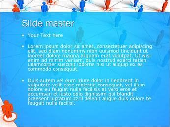 Concepto de red Plantillas de Presentaciones PowerPoint - Diapositiva 2