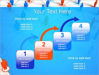 Concepto de red Plantillas de Presentaciones PowerPoint - Diapositiva 20