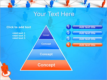 Concepto de red Plantillas de Presentaciones PowerPoint - Diapositiva 22