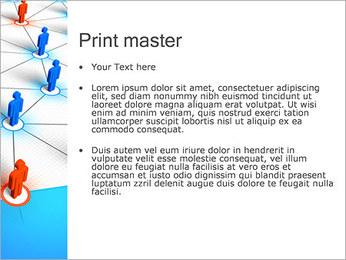 Concepto de red Plantillas de Presentaciones PowerPoint - Diapositiva 24