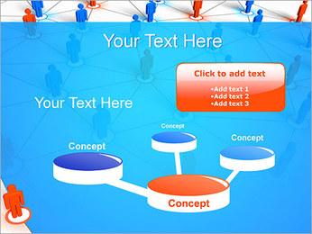 Concepto de red Plantillas de Presentaciones PowerPoint - Diapositiva 9