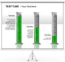 Test Tubes PPT Diagrams & Chart