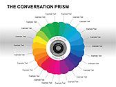 Social Media Set PPT Diagrams & Chart - Slide 1