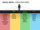 Social Media Set PPT Diagrams & Chart - Slide 12