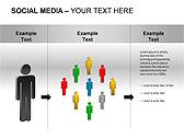 Social Media Set PPT Diagrams & Chart - Slide 13