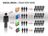 Social Media Set PPT Diagrams & Chart - Slide 14