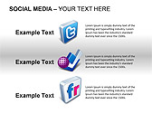 Social Media Set PPT Diagrams & Chart - Slide 15