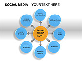 Social Media Set PPT Diagrams & Chart - Slide 6