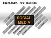 Social Media Set PPT Diagrams & Chart - Slide 8