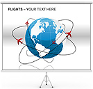 Flights PPT Diagrams & Chart