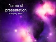 Nébuleuse de l'espace Modèles des présentations  PowerPoint