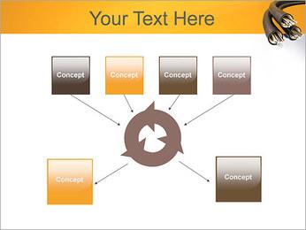 Cables Plantillas de Presentaciones PowerPoint - Diapositiva 10