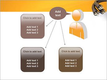 Cables Plantillas de Presentaciones PowerPoint - Diapositiva 12