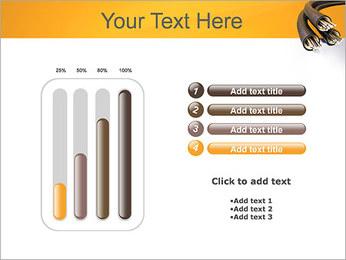 Cables Plantillas de Presentaciones PowerPoint - Diapositiva 18