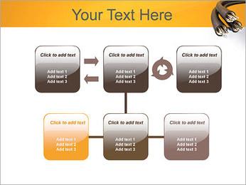 Cables Plantillas de Presentaciones PowerPoint - Diapositiva 23