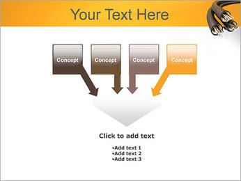 Cables Plantillas de Presentaciones PowerPoint - Diapositiva 8