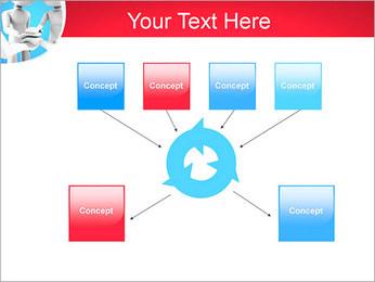 Conceito da equipe Modelos de apresentações PowerPoint - Slide 10