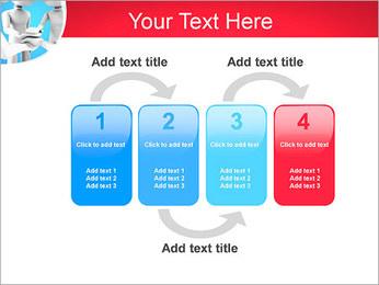 Conceito da equipe Modelos de apresentações PowerPoint - Slide 11