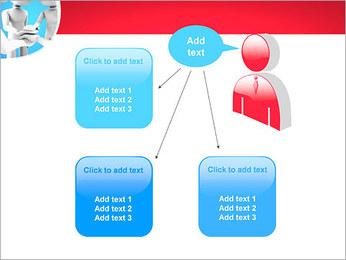 Conceito da equipe Modelos de apresentações PowerPoint - Slide 12