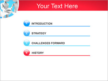 Conceito da equipe Modelos de apresentações PowerPoint - Slide 3
