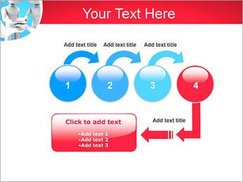 Conceito da equipe Modelos de apresentações PowerPoint - Slide 4