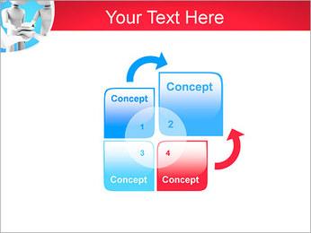 Conceito da equipe Modelos de apresentações PowerPoint - Slide 5