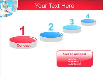 Conceito da equipe Modelos de apresentações PowerPoint - Slide 7