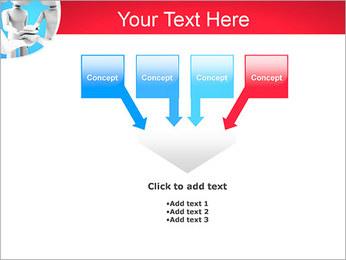 Conceito da equipe Modelos de apresentações PowerPoint - Slide 8