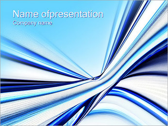 Digital Waves PowerPoint Template