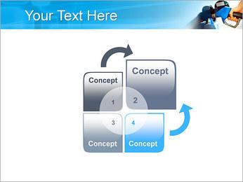 Remplissage voiture Modèles des présentations  PowerPoint - Diapositives 5
