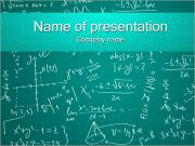Mathematics Formulas PowerPoint Templates
