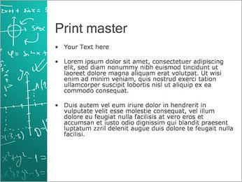 Математика Формулы Шаблоны презентаций PowerPoint