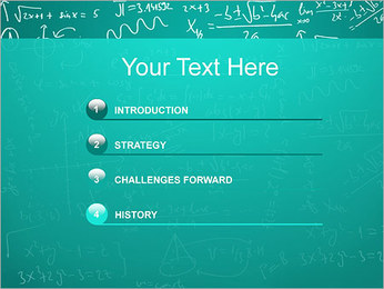 Mathematics Formulas PowerPoint Template - Slide 3