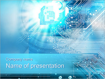Circuit Board Concept PowerPoint Template