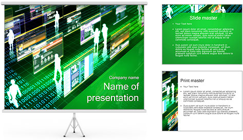 Virtual Concept PowerPoint Template