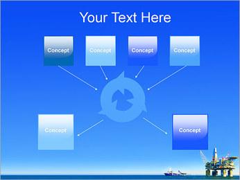 Oil Platform PowerPoint Template - Slide 10