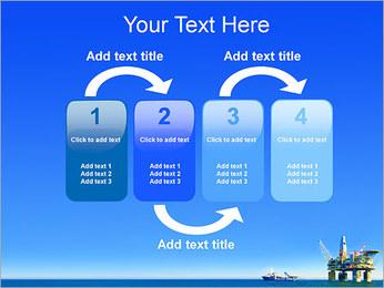 Oil Platform PowerPoint Template - Slide 11