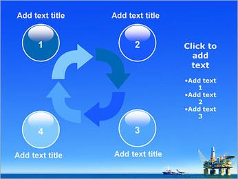 Oil Platform PowerPoint Template - Slide 14