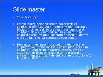 Oil Platform PowerPoint Template - Slide 2