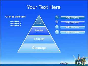 Oil Platform PowerPoint Template - Slide 22