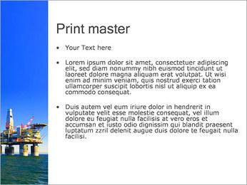 Oil Platform PowerPoint Template - Slide 24