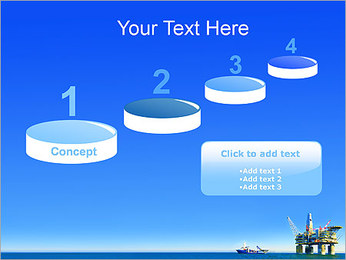 Oil Platform PowerPoint Template - Slide 7