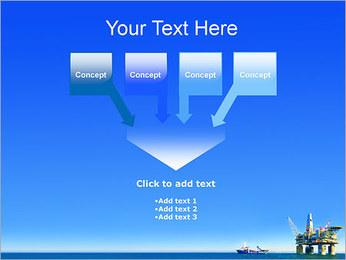 Oil Platform PowerPoint Template - Slide 8