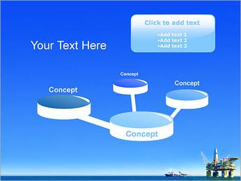 Oil Platform PowerPoint Template - Slide 9