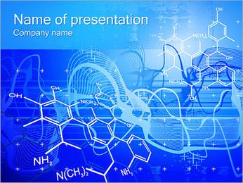 Formules chimiques Modèles des présentations  PowerPoint - Diapositives 1