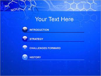 Formules chimiques Modèles des présentations  PowerPoint - Diapositives 3