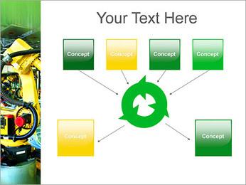 Robots dans l'industrie automobile Modèles des présentations  PowerPoint - Diapositives 10