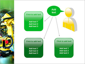 Robots dans l'industrie automobile Modèles des présentations  PowerPoint - Diapositives 12