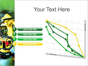 Robots dans l'industrie automobile Modèles des présentations  PowerPoint - Diapositives 13
